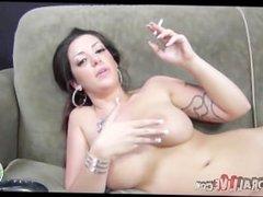 Melina Mason Smoking Fetish