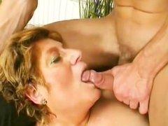 Horny Grandma Looks For Lover - Scene 1