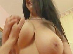 Slutty Big tits Babe rides dick