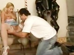 hot blonde proves she is a dirty skank