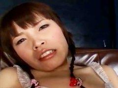 Japanese Yurika Goto fucking her pussy part4
