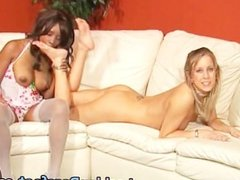 Hot Lesbians Bare Foot, Licking and fun part1