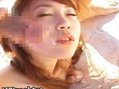 Asami Ogawa Asian chick gets gangbang part5