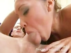 swallowing asian fuck