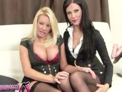 shebang.tv - MICHELLE THORNE & MEGAN COXXX