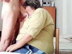 my granny friend sucks my cock