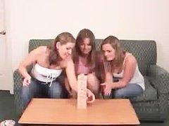 Mia Ashley and Ashton Play Strip Jingo