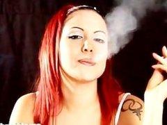 Chain Smoking GIrl