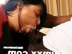 Ebony Hot Sex And Blowjob