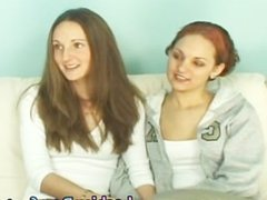 Lesbian Cuties Casting on the Couch part2