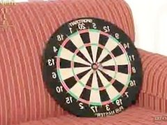 Darts with Ashley and Amber
