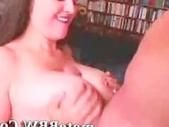 Bbw chubby and huge saggy tits