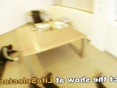 Office Sex with Aletta Ocean, Brandy Smile and Aleska Diamond