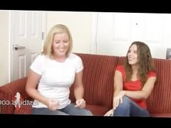 Amber and Ashley play Strip Rock-Paper-Scissors