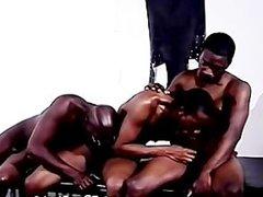 Black Men Orgy