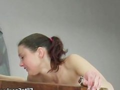 Beautiful babe with amazing tits gets part3