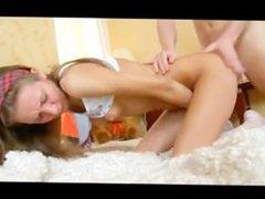 teen girl loves anal