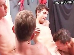 Twinks Deep Throating And Cum Swapping Orgy