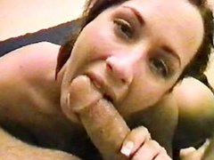 Jayna Gives Sloppy Blow Job POV