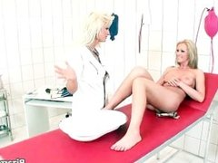 Horny nurse stuffing her patient box part5