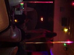 `stripper dancing on stage