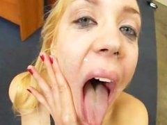 Annette - cumshot