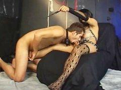 Foot Worshipping Transsexuals 03 - Scene 2