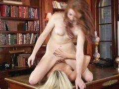 When girls play - Elle Alexandra and Lena Sunshine