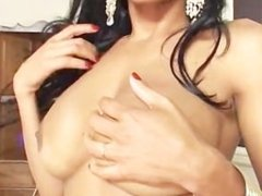 Big Black Tranny Attack - Scene 1
