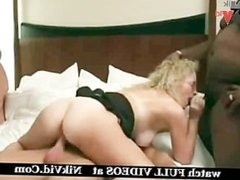 2 Blonde Milfs in Swinger Club