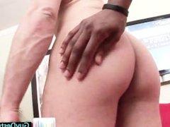 Tristan sucking some massive black cock part4