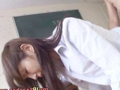 Mai Hanano Sexy Japanese teacher fucked part6