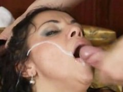 Cory Everson Facial Cumpilation
