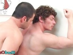 Gay bear gets his hard cock sucked part5