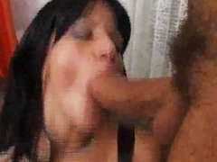 Milf takes 2 cocks - DP