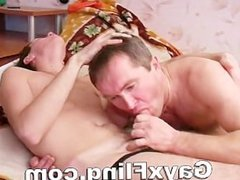 Hot Gay Couple Sharing Oral Fun
