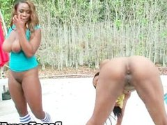 Big assed black girl fucking ans sucking part3