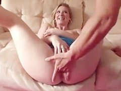 AMWF Sunny Lane interracial with Asian guy