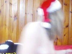 Santa Blonde is Horny HD