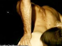 Muscled Hunks Sharing In The Dark