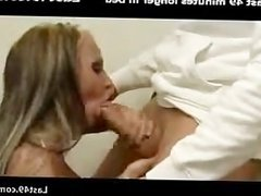 Blonde hanging in supermarket go and fuck in the bathroom of a home