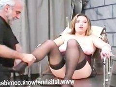 Unwilling female slave