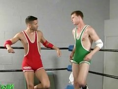 Dallas and mario fucking in boxers ring part4
