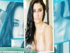Former pornstar showing off her ass as a webcam girl