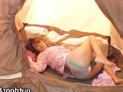 Super hot Japanese babes doing weird sex part1