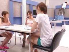 Super horny japanese babes in extreme part3