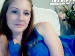 Hottest Teen masturbating Live on Webcam
