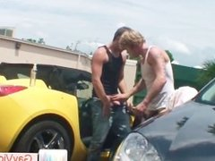 Blonde guy getting arse hammered part1