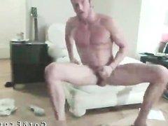 Bearded Hunk Strips And Masturbates part6