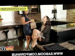 Lesbians Liza Del Sierra and Jasmine Black Pussy Licking and Fucking
